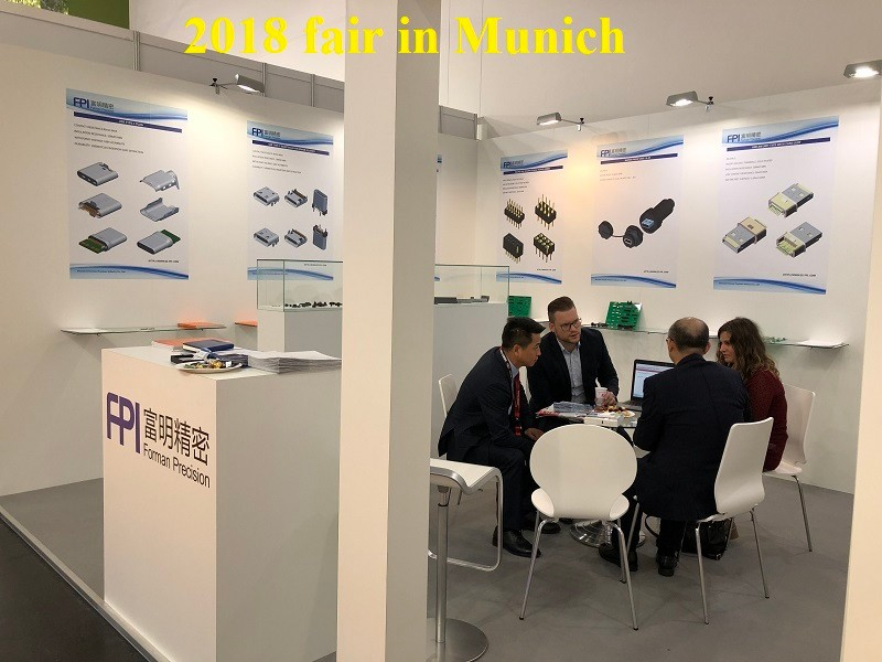 Electronica 2018 in Munich, Germany