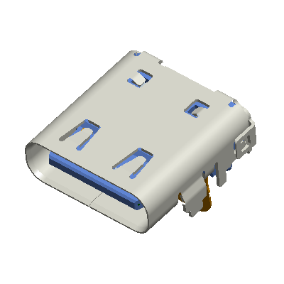 14 Pins Type C Receptacle